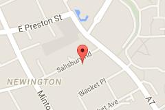 Mapa Salisbury Centre